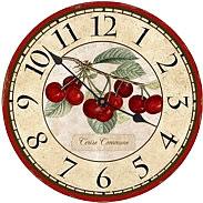 Botanical Wholesale Wall Clocks Flower Wholesale Wall Clocks